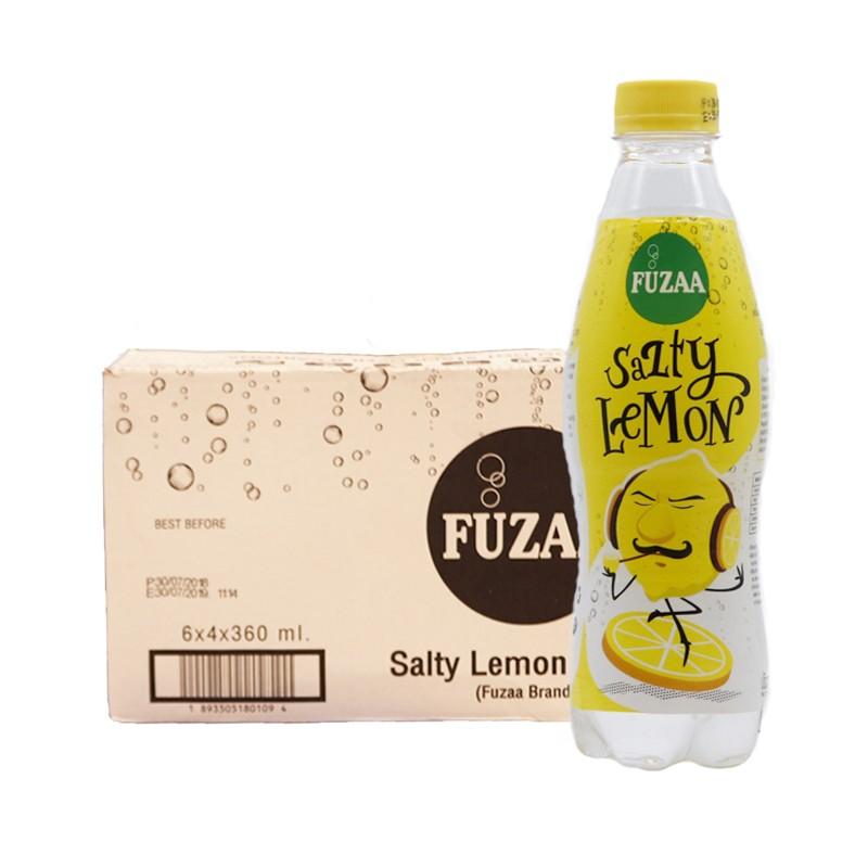 谜果柠檬味盐汽水360ml*24瓶